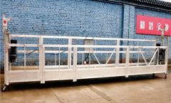 Galvanized Steel Articulated Working Platform / Cradle / Swing сатылары
